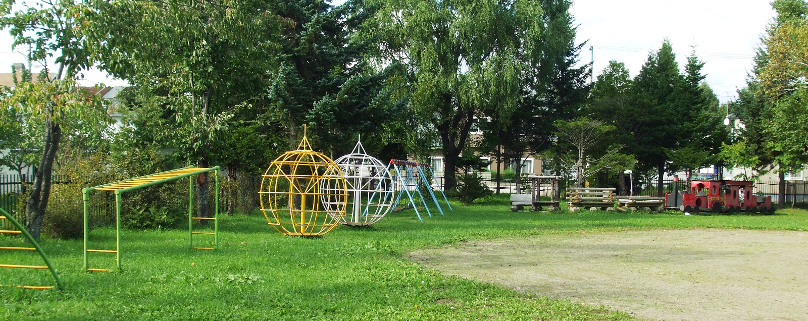 北見大谷幼稚園園庭